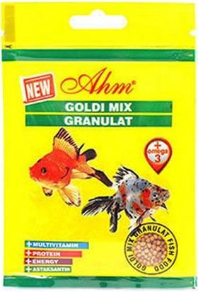 Goldi Mix Gran.15 Gr Balık Yemi 12Li