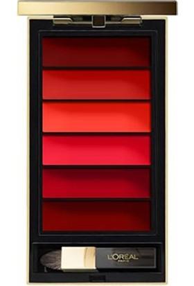 L'Oréal Paris Color Riche Rouge Pallette 02 Ruj Paleti
