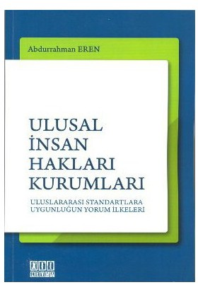 Ulusal İnsan Hakları Kurumları-Abdurrahman Eren