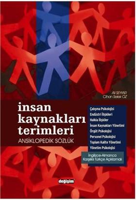 İnsan Kaynakları Terimleri Ansiklopedik Sözlük - İngilizce-Almanca Karşılıklı Türkçe Açıklamalı-Ali Seyyar