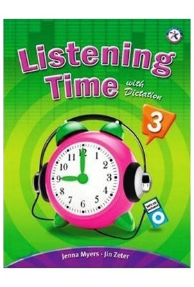 Listening Time 3 With Dictation + Mp3 Cd-Jenna Myers