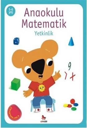Anaokulu Matematik-Yetkinlik 5-6 Yaş Çıkartmalarla-Kolektif