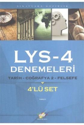 Fdd Lys 4 Denemeleri Tarih, Coğrafya 2, Felsefe (4'Lü Set)-Kolektif