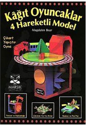 Kağıt Oyuncaklar 4 Hareketli Model-Magdalen Bear
