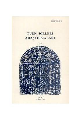Türk Dilleri Araştırmaları Yıllığı 1996 Cilt: 6-Talat Tekin