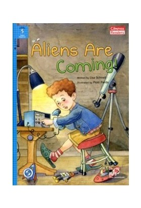 Aliens Are Coming! +Downloadable Audio (Compass Readers 5) A2-Lisa Schnell