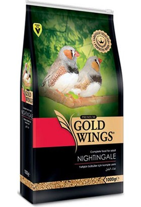 Gold Wings Premium Bülbül Yemi 1 Kg