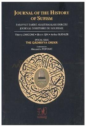 Journal Of The History Of Sufismtasavvuf Araştırmaları Dergisi Sayı: 1-2Journal D''Histoire De So-Kolektif