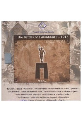 The Battles Of Çanakkale 1915 (Cd-Rom)