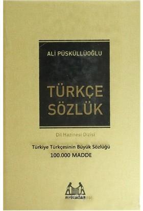 Türkçe Sözlük (100.000 Madde) (Ciltli) - Ali Püsküllüoğlu