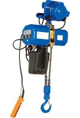 Atlas Atzc24 4 Hareketli Elektrikli Zincirli Vinç Trifaze 380Volt 2 Ton Kapasite