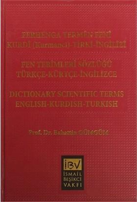 Ferhenga Termen Feni Fen Terimleri Sözlüğü-Bahattin Gümgüm