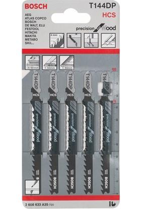 Bosch - Hassas Kesim Serisi Ahşap İçin T 144 Dp Dekupaj Testeresi Bıçağı - 5'Li Paket