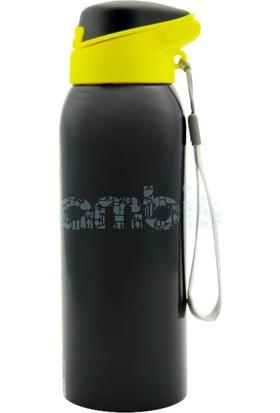 Flask Çelik Renkli Soğuk İçecek Termosu Siyah 350 ML