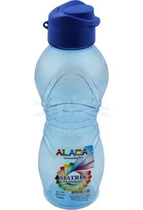 Alaca Matrix Plastik Su Matarası 750 ml - Mavi