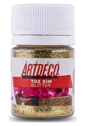 Artdeco Toz Sim (Glitter) 302 Altın Sim