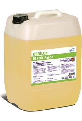 Berilon Matik Force Sıvı Bulaşık Makinesi Yıkama Deterjanı 20 lt
