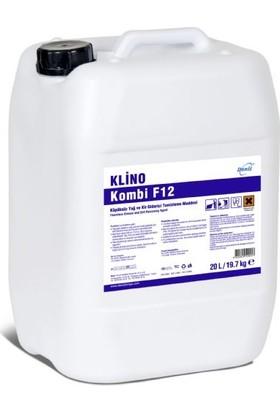 Klino Kombi F12 Köpüksüz Ağır Yağ Ve Kir Giderici Genel Yüzey Temizleme 9,9 kg