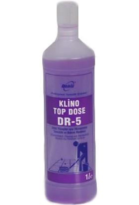 Klino Top Dose Dr-5 Cilalı Yüzey (Konsantre) Temizlik Bakım 1 lt