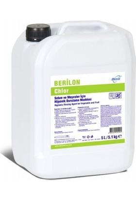 Berilon Chlor Sebze Ve Meyveler İçin Hijyenik Durulama Maddesi 5 lt