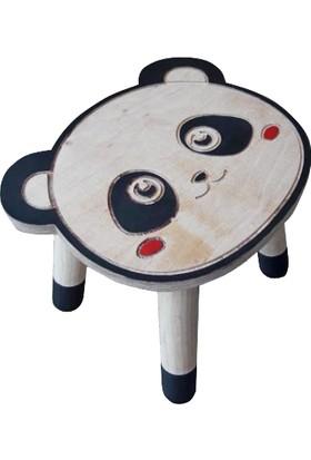 Harman Minik Doğal Ahşap Oyun ve Eğlence Masa Sandalye Takımı
