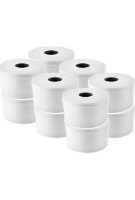 İhtiyaç Limanı Mini Cimri Tuvalet Kağıdı İçten Çekmeli 12'li 4 kg + Çöp Poşeti