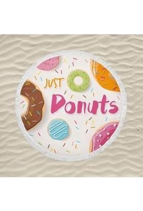 Newobsessions Donut Plaj Örtüsü