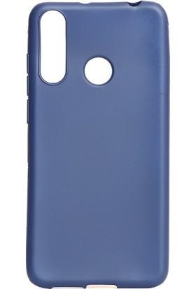 KNY Casper Via F3 Kılıf Ultra İnce Mat Silikon Lacivert + Cam Ekran Koruyucu