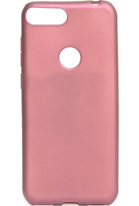 KNY Alcatel 1S Kılıf Ultra İnce Mat Silikon Bordo + Nano Cam Ekran Koruyucu