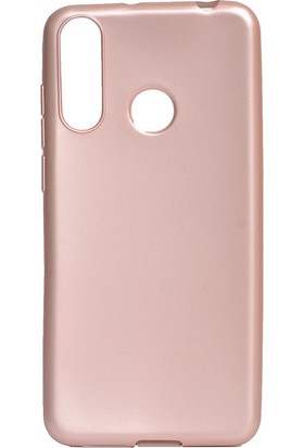 HappyShop Casper Via F3 Kılıf Ultra İnce Mat Silikon Rose Gold + Cam Ekran Koruyucu