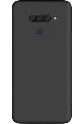 Cayka LG Q60 Silikon Kılıf Siyah