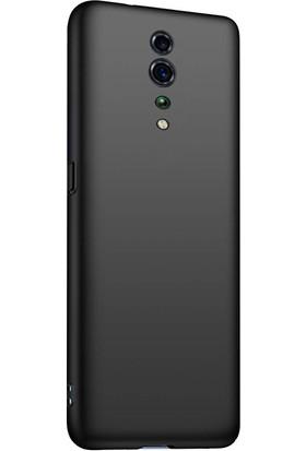 Ally Oppo Reno Z Kamera Korumalı Fit Silikon Kılıf AL-31018 Siyah