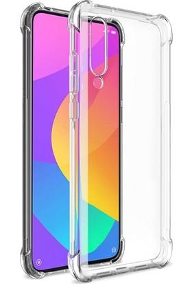 Ally Xiaomi Mi CC9E/Mi A3 Anti-Drop Darbe Emici Silikon Kılıf AL-31024 Şeffaf