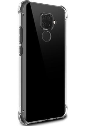 Ally Huawei Nova 5i Pro Anti-Drop Darbe Emici Silikon Kılıf AL-31037 Şeffaf