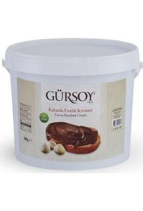 Gürsoy Kakaolu Fındık Kreması Plastik Kova 10 kg
