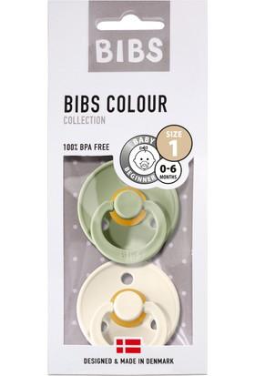 Bibs Colour Ikili Emzik - Sage / Ivory