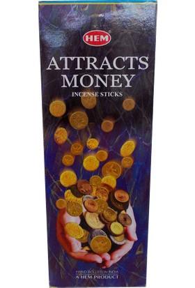 Hem Tütsü Paranın Cezbi 20 Çubuk Tütsü - Attracts Money