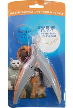 Kedi - Köpek Tırnak Makası Led Lambalı