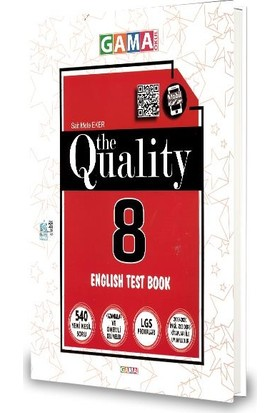 Gama 8.Sınıf The Qualıty Englısh Test Book-2020
