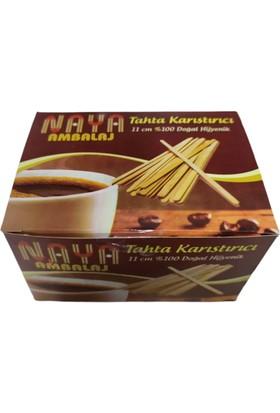 İhtiyaçlimanı Naya Tahta Karıştırıcı 1 Paket