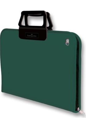 Faber-Castell Proje Çantası 38*55cm K.Yeşil