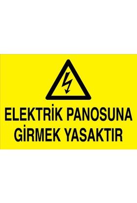 Canis Etiket Elektrik Panosuna Girmek Yasaktır Dekota
