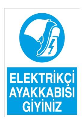 Canis Etiket Elektrikçi Ayakkabısı Giyiniz Alüminyum