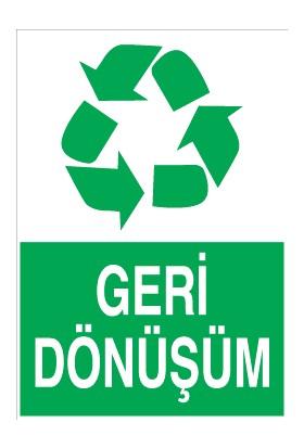 Canis Etiket Geri Dönüşüm Sticker-Folyo
