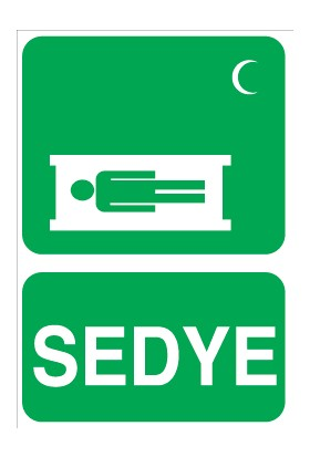 Canis Etiket Sedye Sticker-Folyo