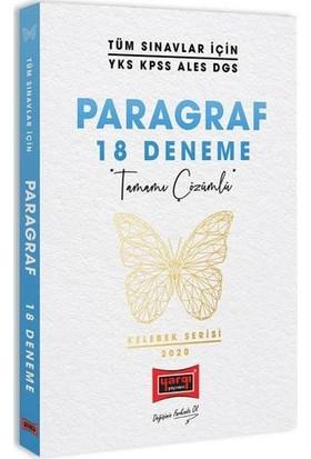 Yargı Yayınları Tüm Sınavlar İçin Paragraf Tamamı Çözümlü 18 Deneme