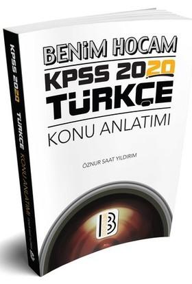 Benim Hocam Yayınları 2020 Kpss Türkçe Konu Anlatımı