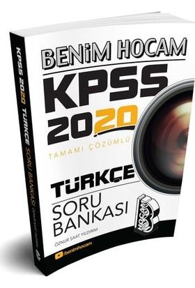 Benim Hocam Yayınları 2020 Kpss Türkçe Tamamı Çözümlü Soru Bankası