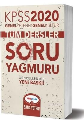 Yediiklim Yayınları 2020 Kpss Genel Kültür Genel Yetenek Tüm Dersler Soru Yağmuru