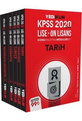 Yediiklim Yayınları 2020 Ortaöğretim-Önlisans Gk-Gy Konu Anlatımlı Modüler Set